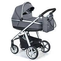 Детская универсальная коляска 2 в 1 Espiro 2.1 Next Melange 2020 17 Graphite Street