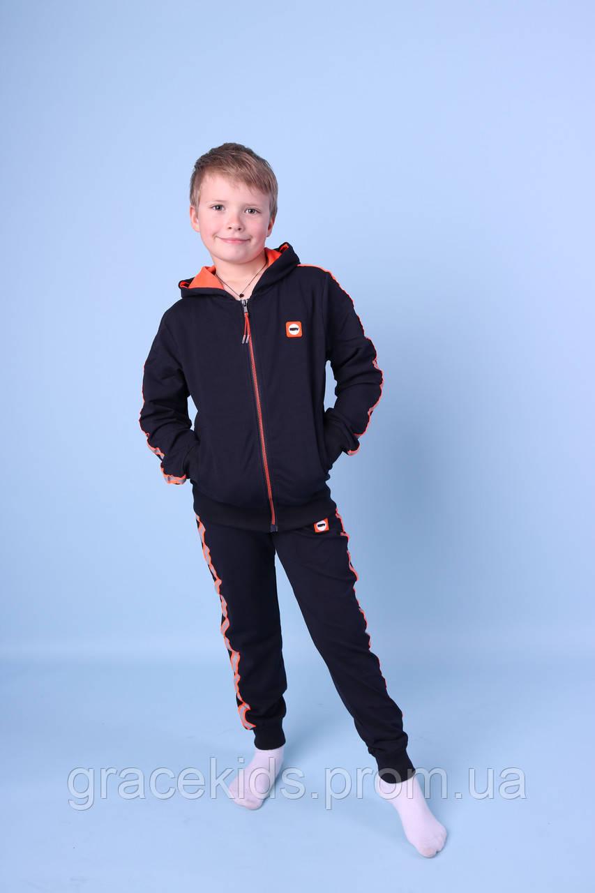 Спортивный костюм на мальчиков оптом GRACE,разм 134-164 см,95% хлопок