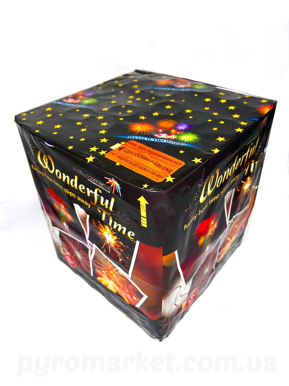 Салют Wonderful Time Maxsem GWM6361, 36 выстрелов 30 мм