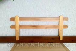 """Барьер защитный для детской кроватки из натурального дерева """"Масу"""" (цвет на выбор) 116 см., фото 2"""