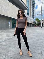Лосіни жіночі чорні, фото 1
