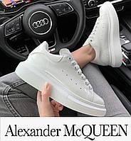Женские кроссовки на высокой платформе Alexander McQueen.