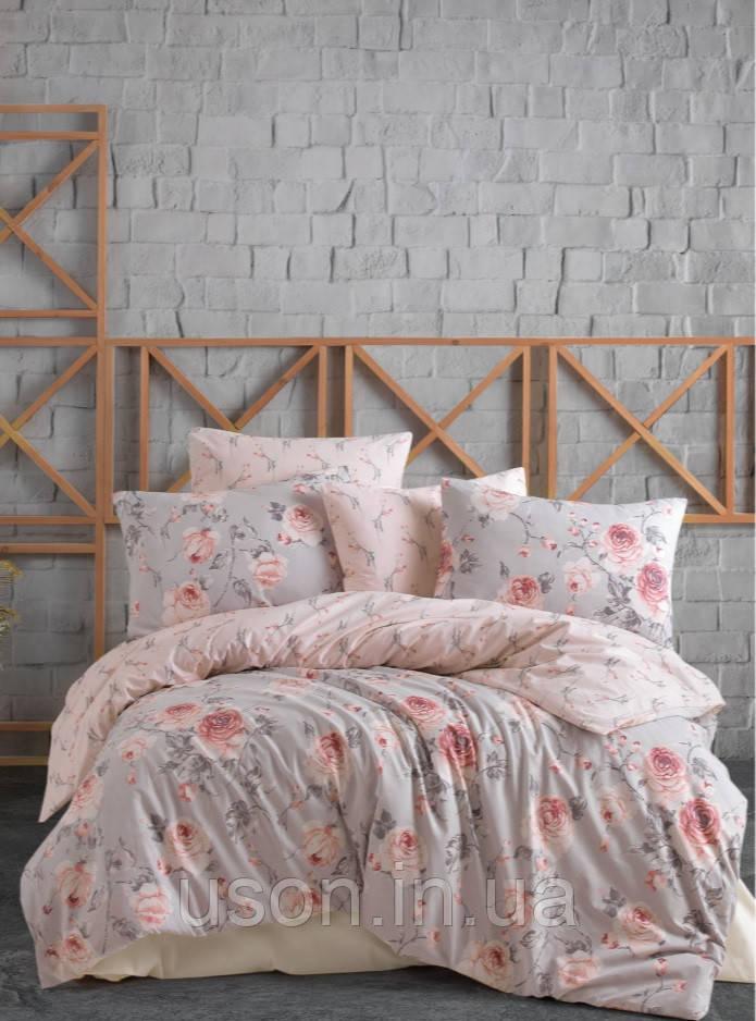 Комплект постельного белья ранфорс ТМ Majoly 200*220  Maison v1