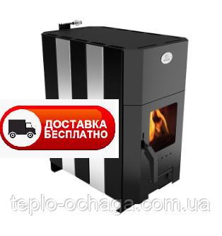 Печка Огнев ПОВ-150 со стеклом