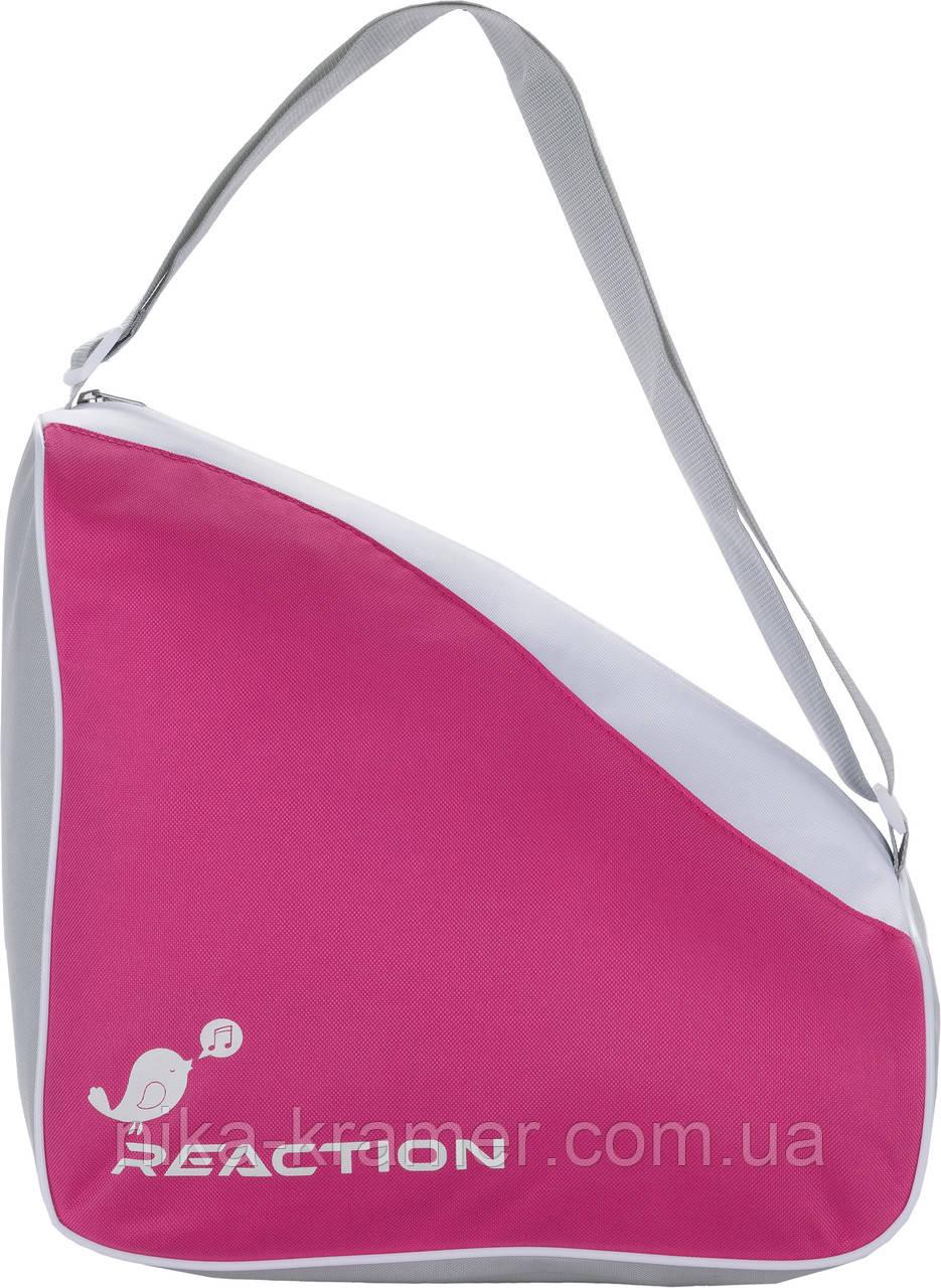 Сумка для коньков Reaction малиновая