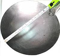 Сковорода c ручкой из прокатной стали Вок 35*13*18