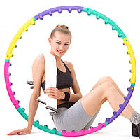 Массажный хулахуп для похудения и коррекции талии Massage Hoop 1108 диаметр 96 см, массажный обруч, фото 1