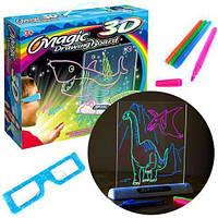 Доска для 3D рисования Toy Magic 3D, 3д рисунок, рисовать в 3д, развивающая игрушка, фото 1