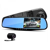 Авторегистратор зеркало с камерой заднего вида DVR A1, видеорегистратор зеркало, фото 1
