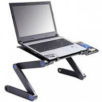 Складной столик для ноутбука Laptop Table T8, столик переносной, портативный столик, фото 1