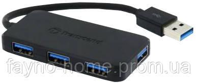 Купить USB-хаб Transcend SuperSpeed USB 3.0 Hub (6270138)