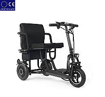 Легкий мобильный складной электроскутер для пожилых людей S-48350. Электроколяска.