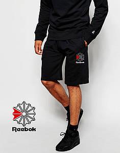 Шорти Reebok чорні квітка
