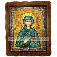 Икона Соломия Святая мироносица (с посеребренной рамкой 210х250мм)