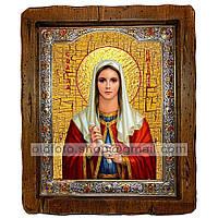 Икона Емилия Святая Кесарийская  (с посеребренной рамкой 210х250мм)