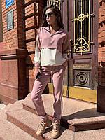Костюм літній жіночий рожевий