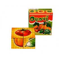 Кубики рис. Овощи 8 * 8 * 4 см ТехноК (1/34)