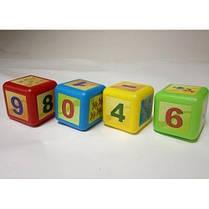 Кубики малые Математика арт 028/6 16 * 16 * 8 см