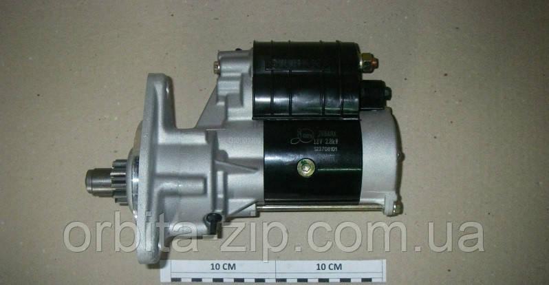 123708101 Стартер редукторний МТЗ, Т-40, Т-25 12В 2,8 кВт посилений (ТМ JUBANA)