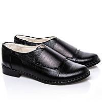 Туфли La Rose 2228 39(25,6 см) Черная кожа флотар