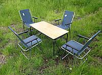 Складная мебель для природы ( 4 кресла + раскладной стол ), фото 1