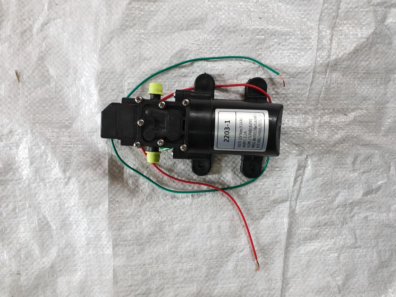 Обприскувач акумуляторний насос подачі води