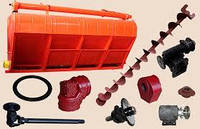Запасные части для загрузчика сухих кормов (ЗСК)