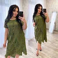 Нарядное платье из кружева, размер 50-56