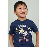 Футболка для хлопчика H&M на зріст 122-128 см (на 6-8 років), фото 2