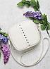 Женская сумочка Алисия, кросбоди, 20*20*8 см, белая