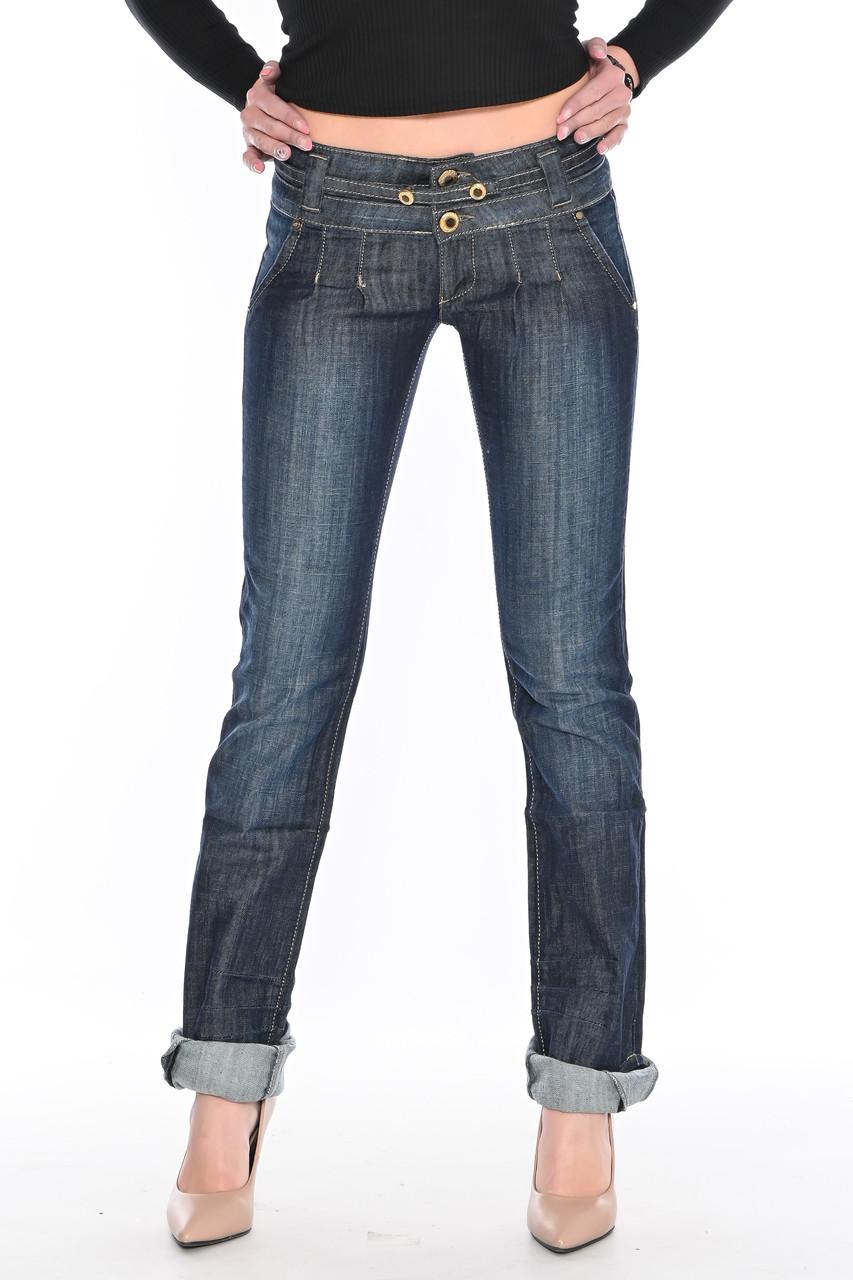 Женские джинсы OMATjeans 9639 темно-синие