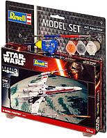 Сборная модель-копия Revell набор Звездный истребитель ARC-170 уровень 3 масштаб 1:83 (RVL-63601), фото 1