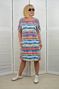 Платье с карманами - Модель Л615-4п