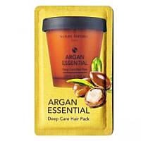 NATURE REPUBLIC Argan Essential Deep Care Hair Pack - пробник