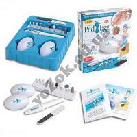 Набор для педикюра Ped Egg (Пед Эгг)  + Ped Shaper (Пед Шейпер)  18 предметов