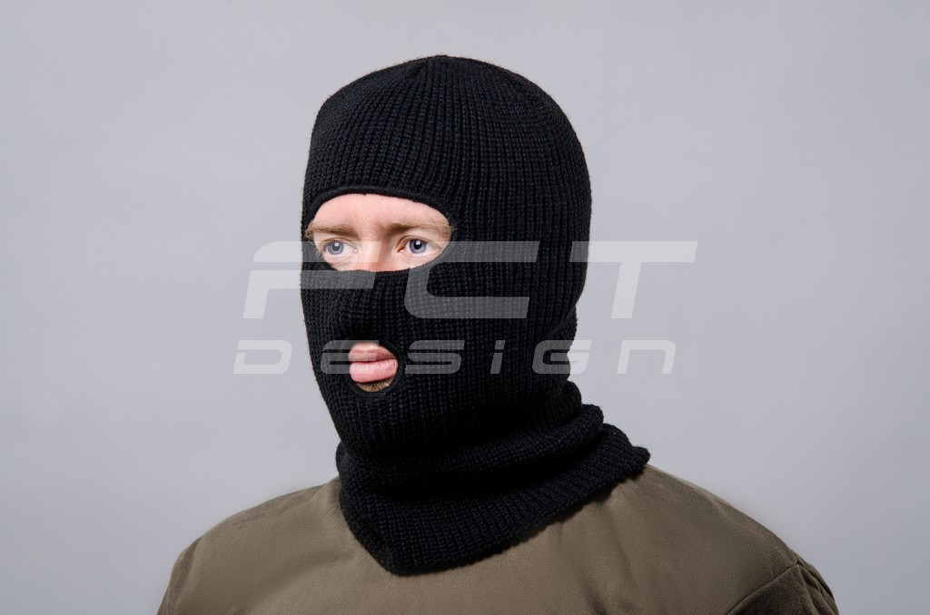 Шапка маска 2 прорези