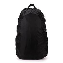 Чехол дождевик на рюкзак 45, чёрный