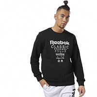 Спортивный свитшот Reebok Gp Unisex Fleece Crew DJ1891