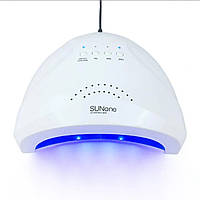 LED+UV лампа для маникюра нового поколения  SUN One 48W Цвет  белый