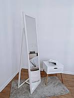 Дзеркало підлогове в дерев'яній рамі HomeDeco Вайс 150х50