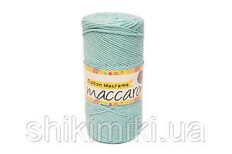 Эко Шнур Cotton Macrame, цвет Ментол