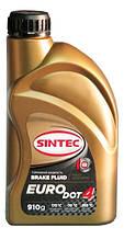 Тормозная жидкость SINTEC EURO DOT-4 tk 265оС, 0, 455л