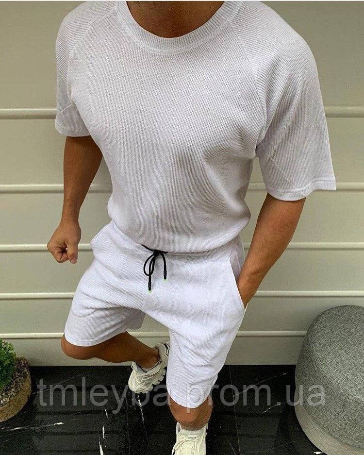 Мужской костюм Футболка + шорты