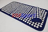 Аппликатор Кузнецова (Ляпко) массажный акупунктурный коврик с подушкой массажер для спины VMSport (vms-025)
