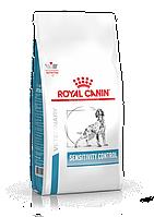Корм для собаки при пищевой аллергии и пищевой непереносимости ROYAL CANIN SENSITIVITY CONTROL DOG, 14 кг