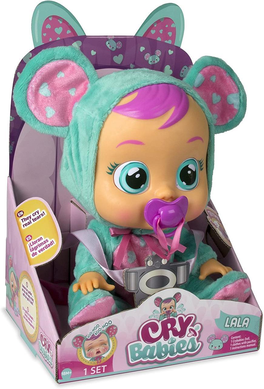 Интерактивная Кукла плакса IMC Toys Cry Babies Lala Doll Пупс Мышка ЛАЛА 10581 с бесплатной доставкой