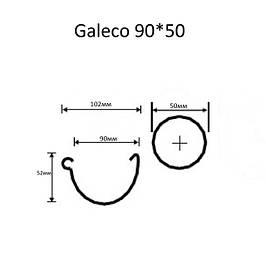 Водосточная система Galeco PVC 90/50