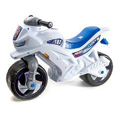 Мотоцикл Беговел 2-х колесный белый