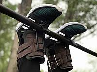 Гравитационные ботинки (инверсионные ботинки для турника) тренажер для спины VMSport Light (vms-014-3)