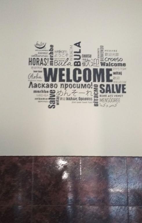 Отзыв на интерьерную наклейку на стену Welcome